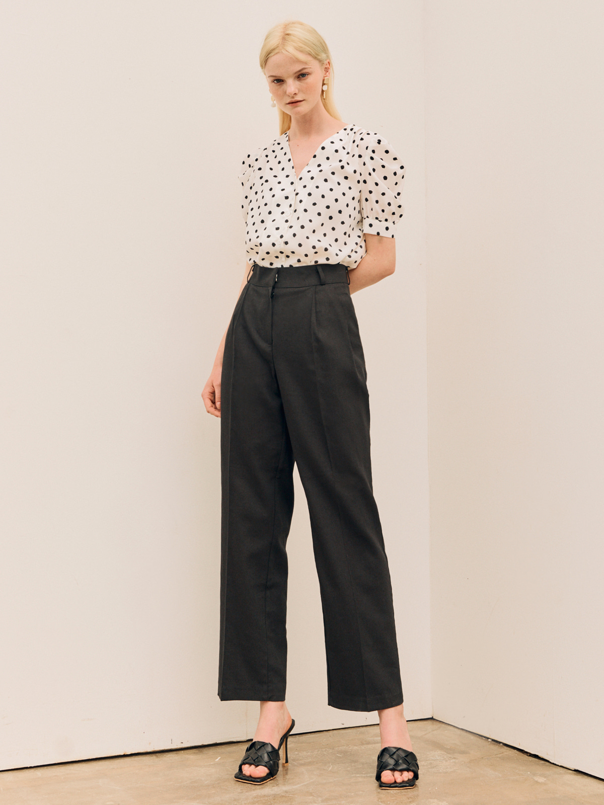 Lucy Pintuck Long Pants_Black