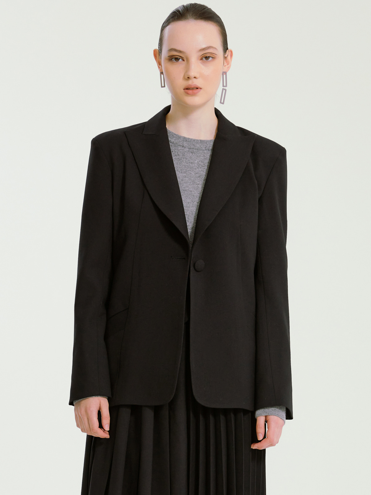 Jocelyn Blazer Jacket_Black