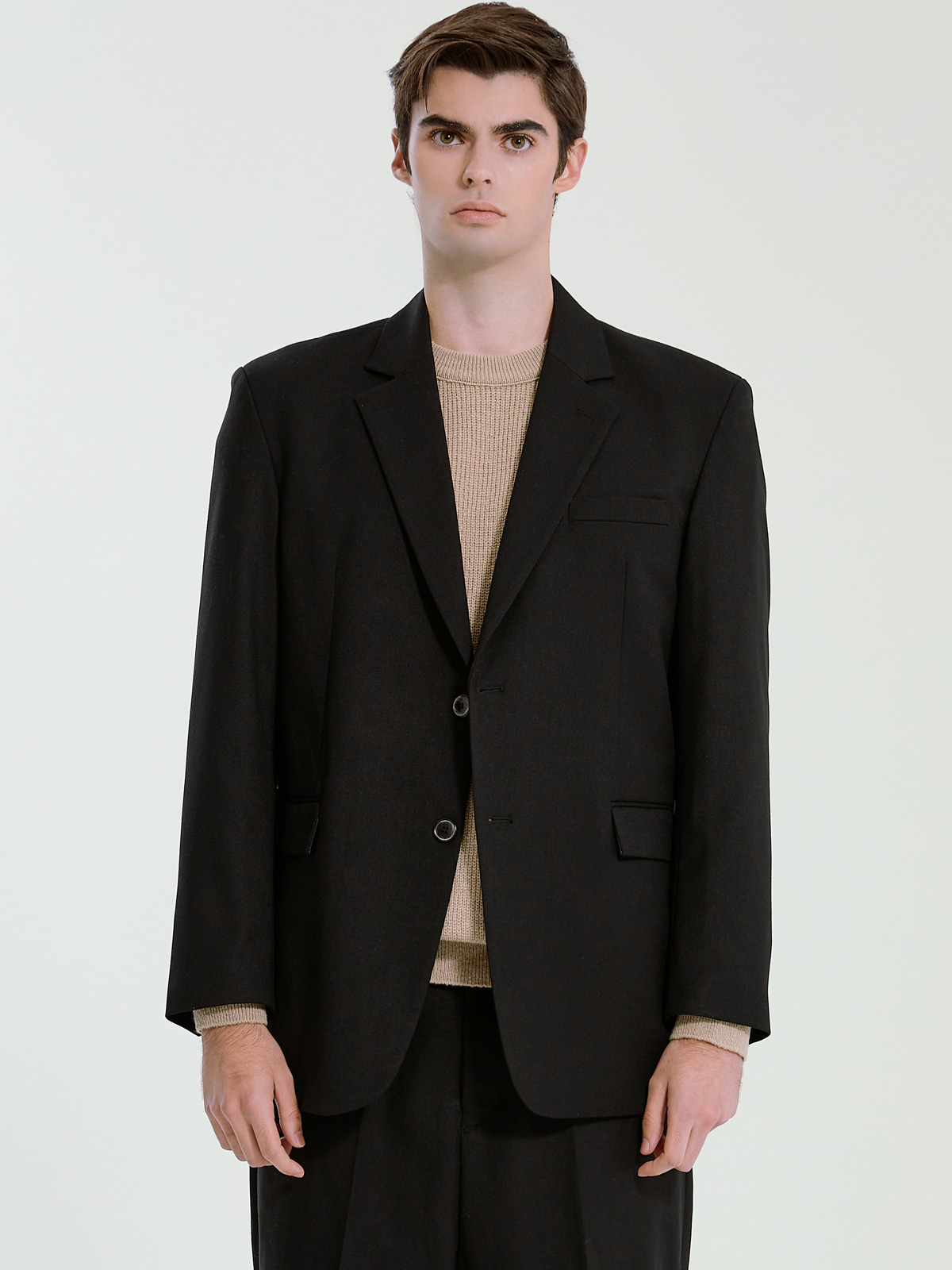 Classic Single Jacket_Black