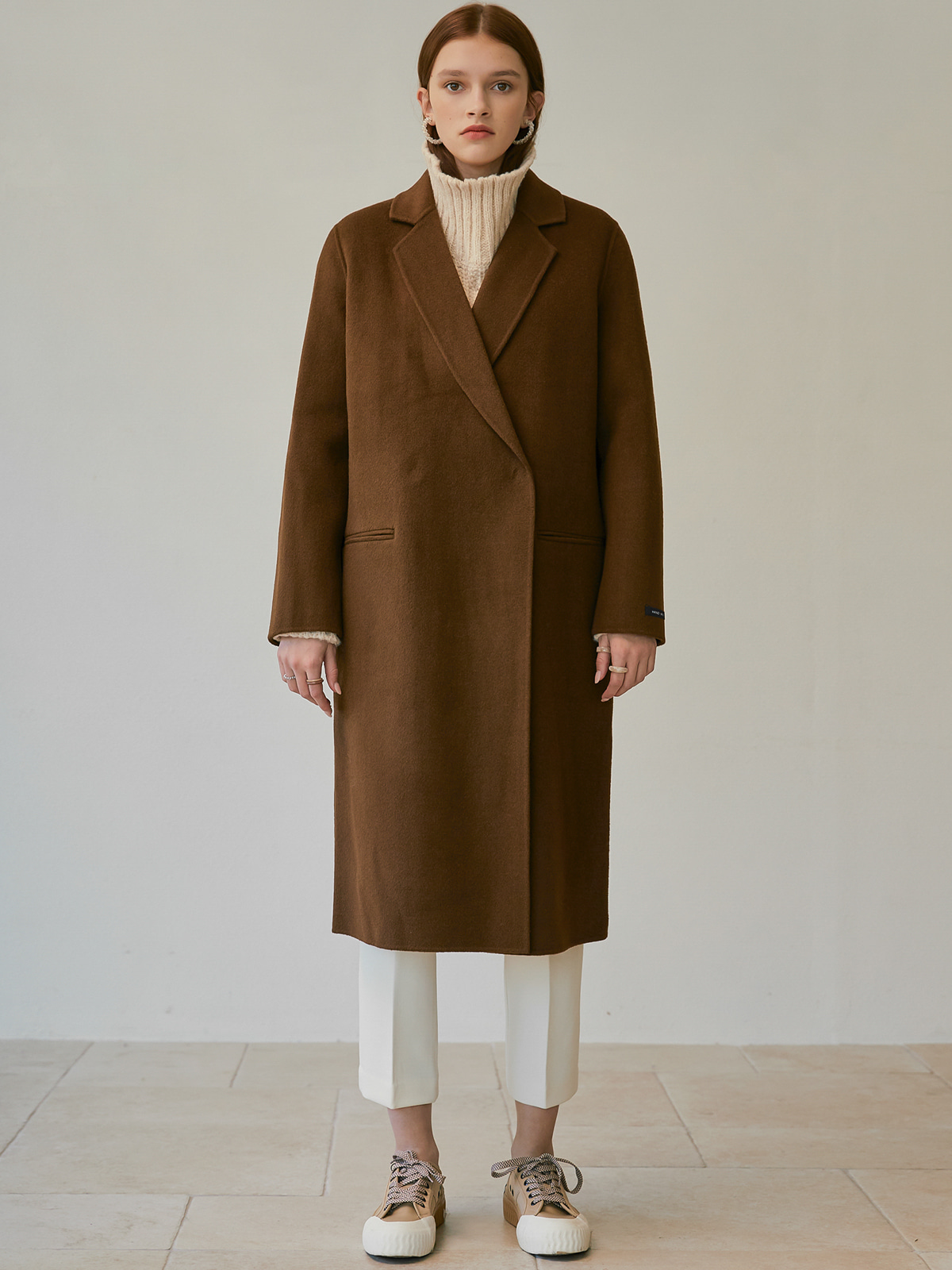 [윈터프리오더15%]Eden Handmade Wool Coat_Brown